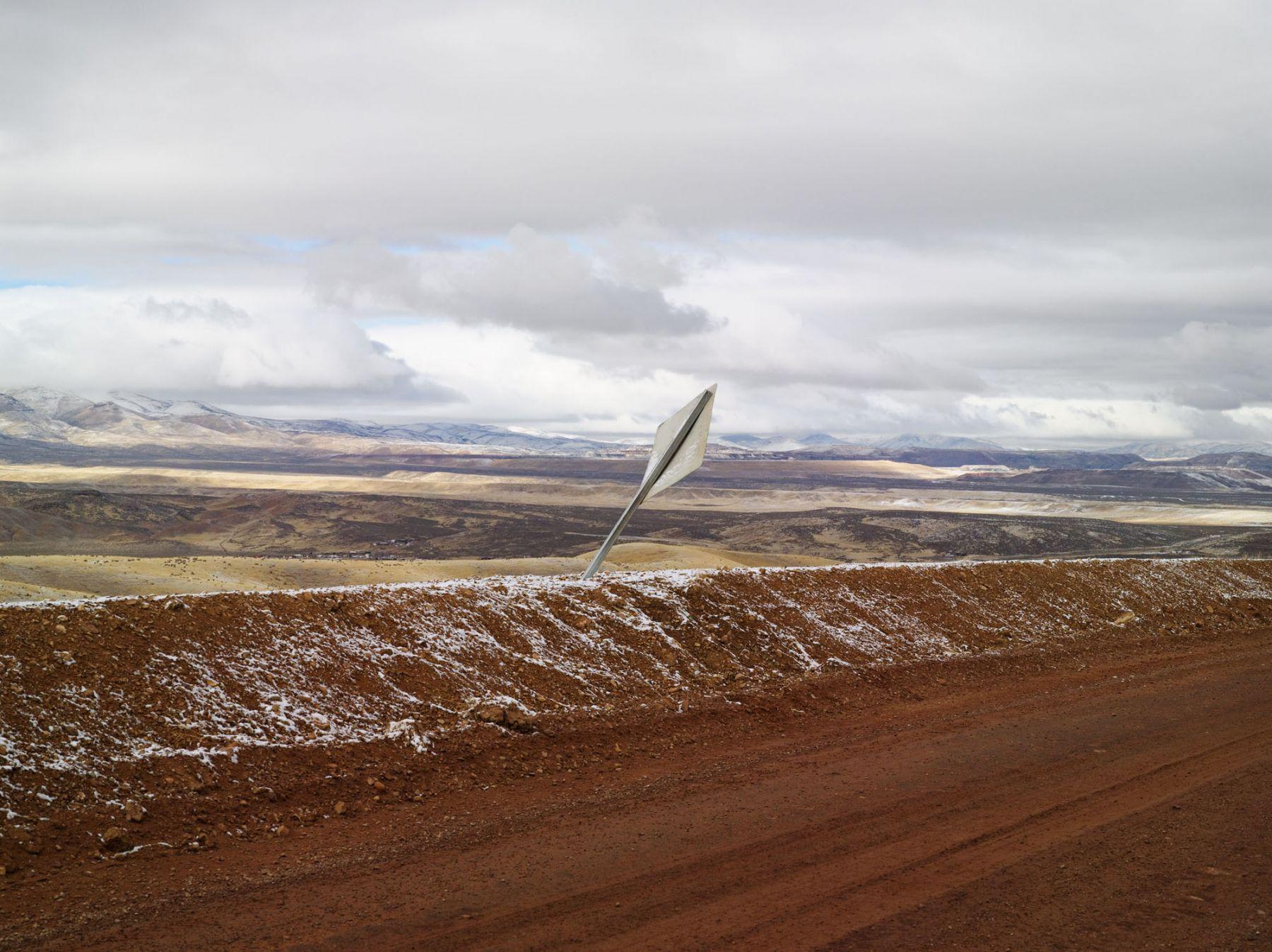 LUCAS FOGLIA, New Mining Road, Carlin, Nevada, 2012