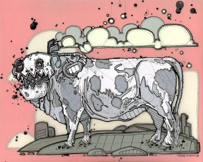 Nicholas Di Genova, Steam Driven Aurochs Yawner, 2004-2005