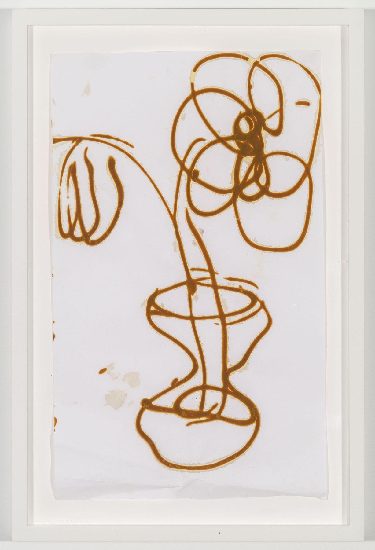 BRIAN BELOTT, Mustard Drawing (Flowers),2015