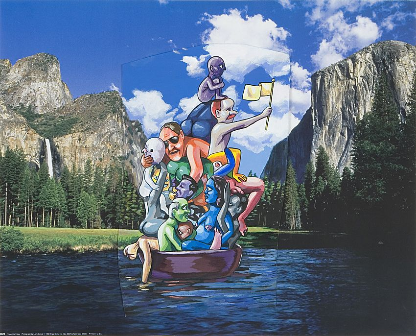 LAMAR PETERSON, Boat People, 2006