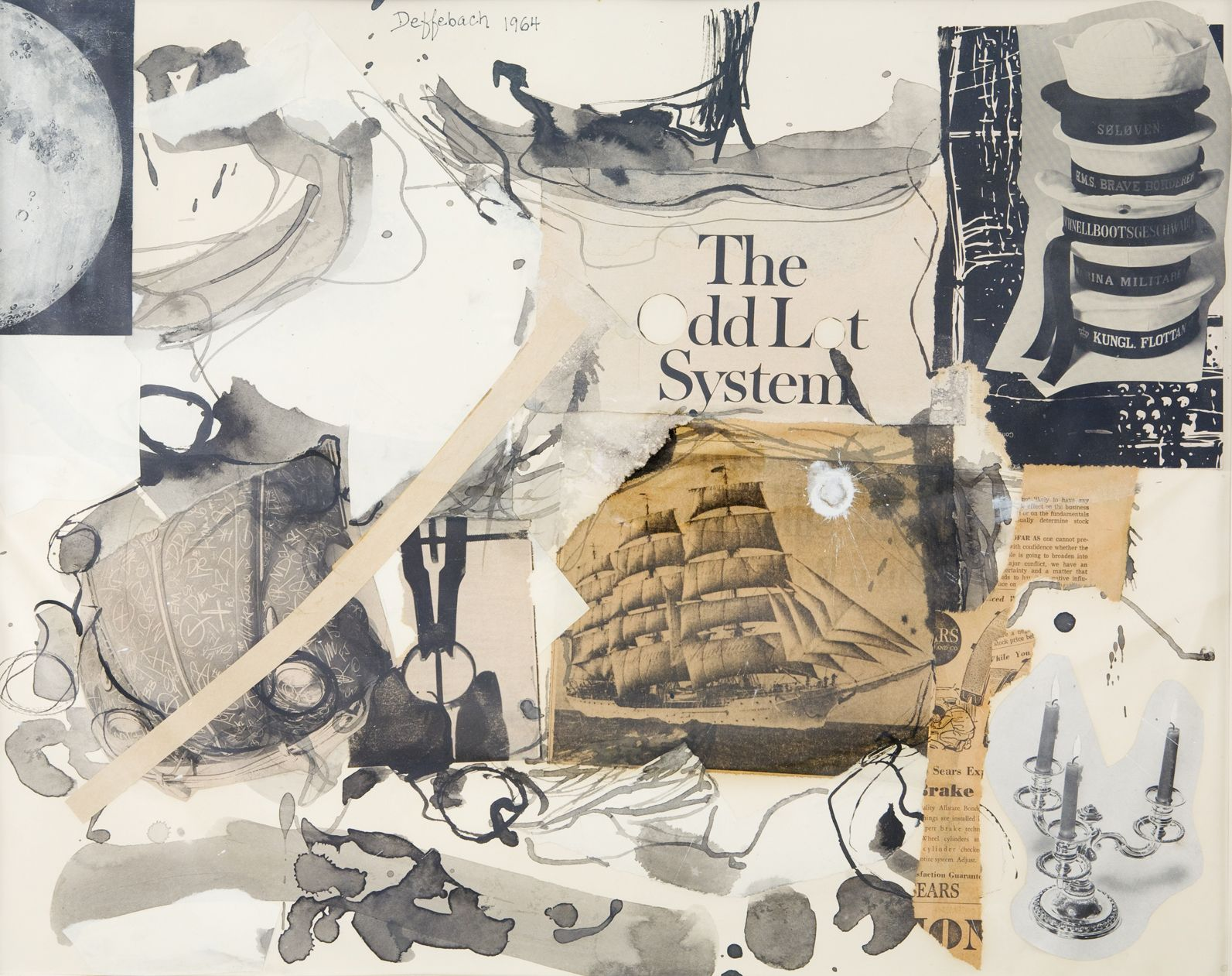 Lee Deffebach, collage, utah artist, utah art