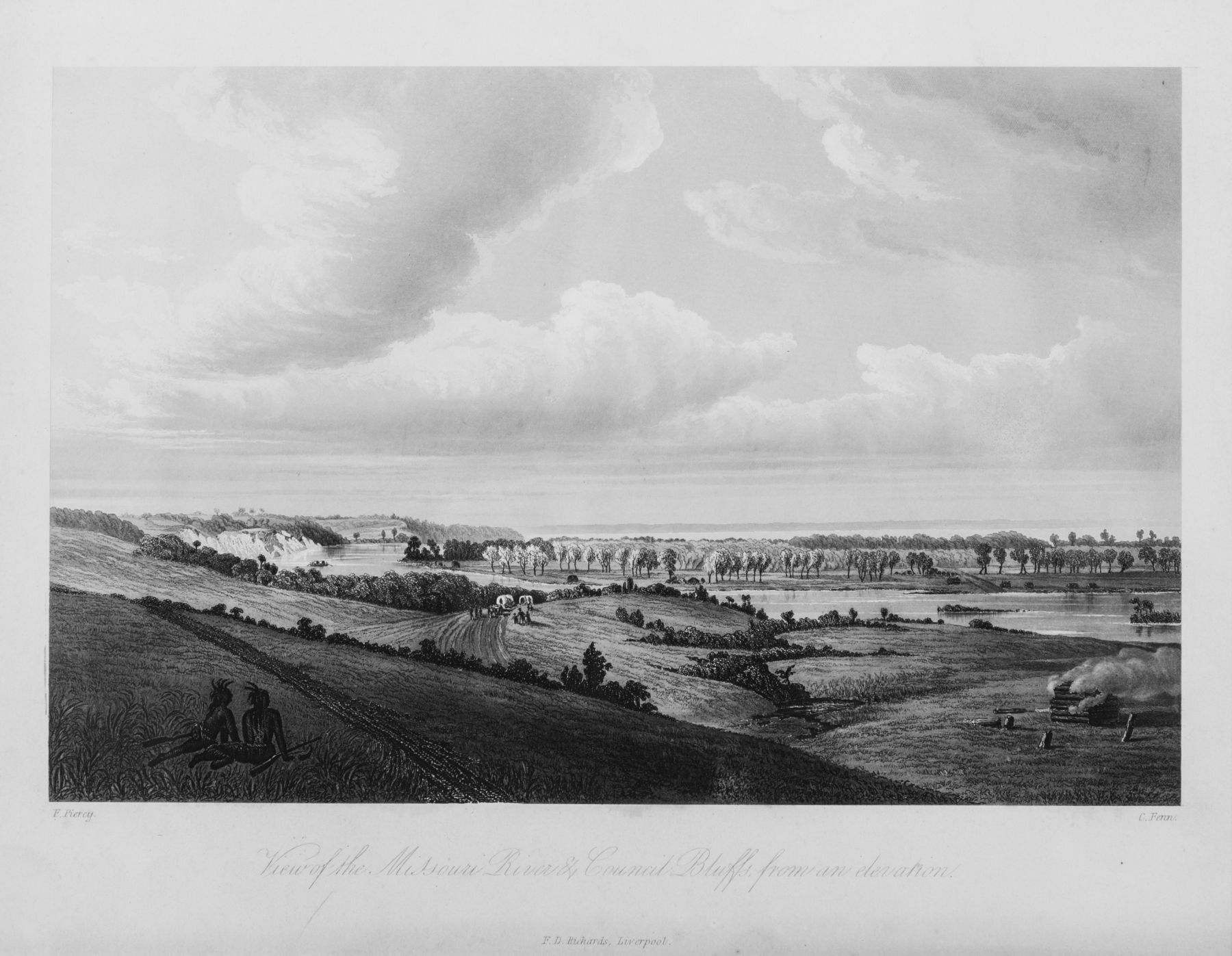 View of the Missouri River, Council Bluffs