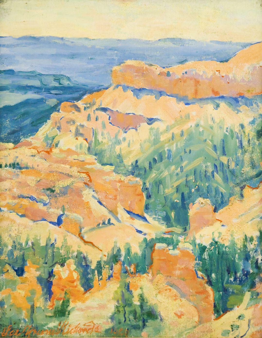 Lee Greene Richards, Bryce Canyon, Utah, National Parks, western art, Utah art,