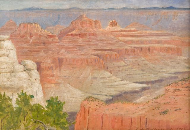 Frederick S. Dellebaugh, Grand Canyon, western art, national parks