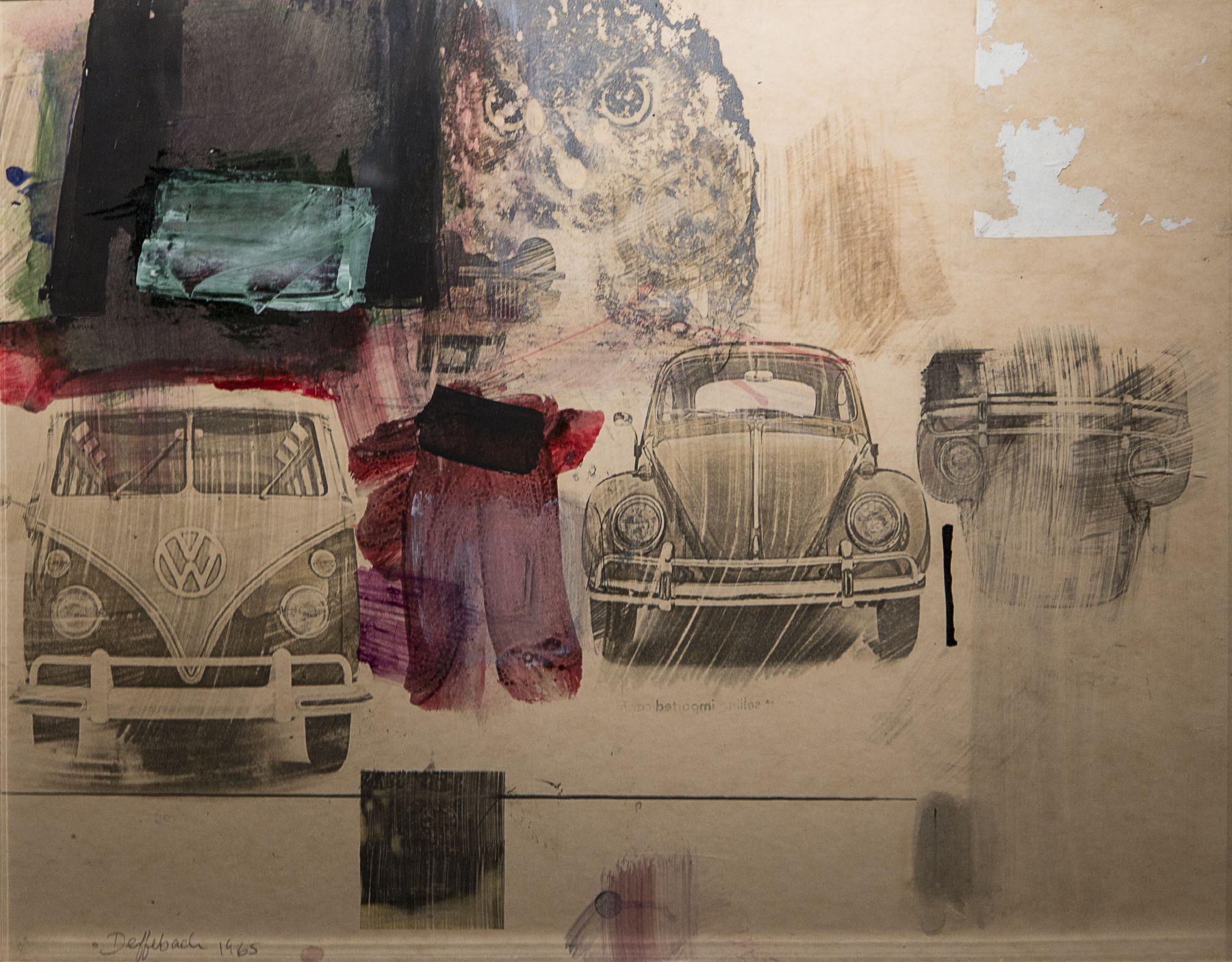 Helen Lee Deffebach, utah artist, utah art, collage,