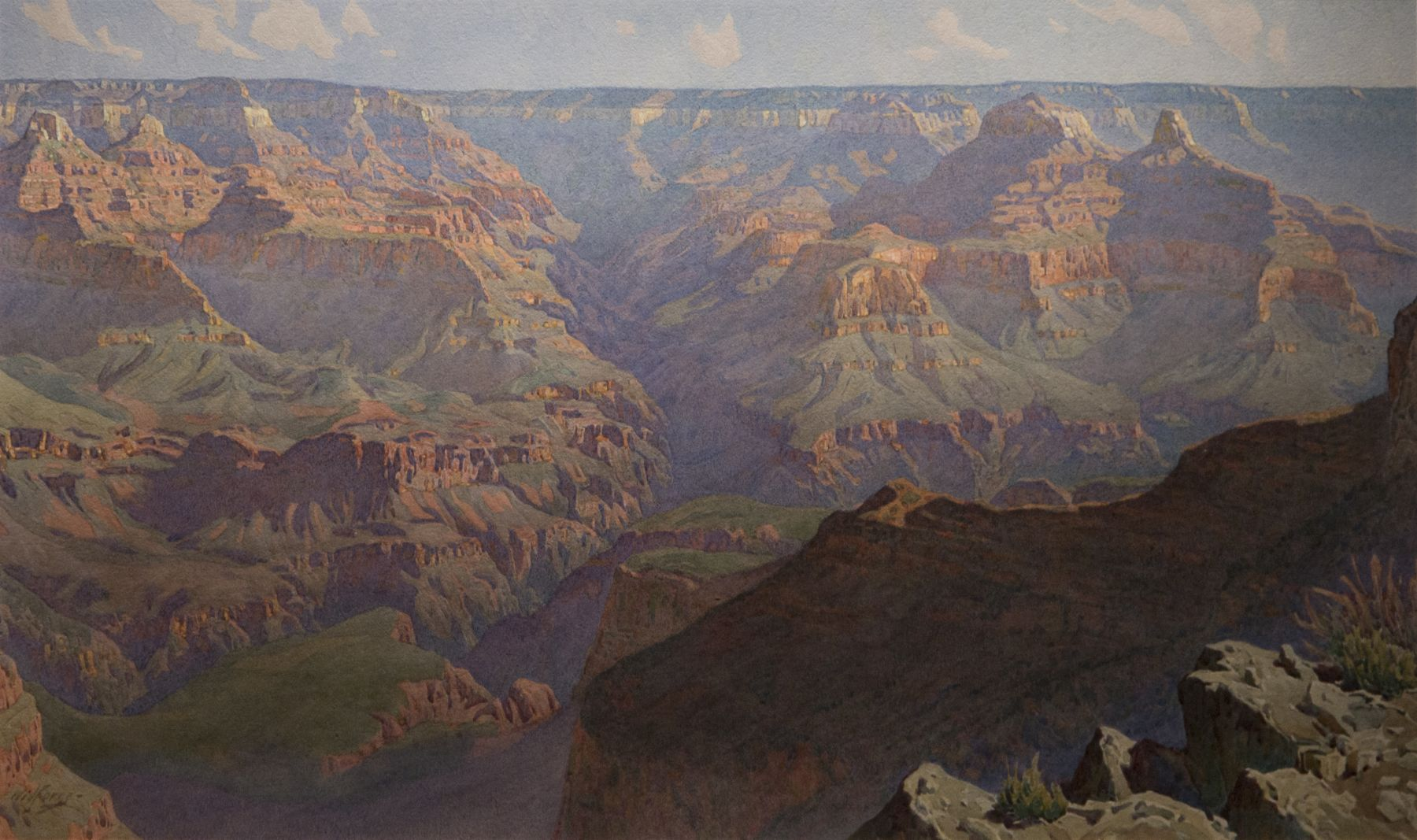 Gunnar Widforss, Grand Canyon, Grand Canyon National Park, western art, landscape