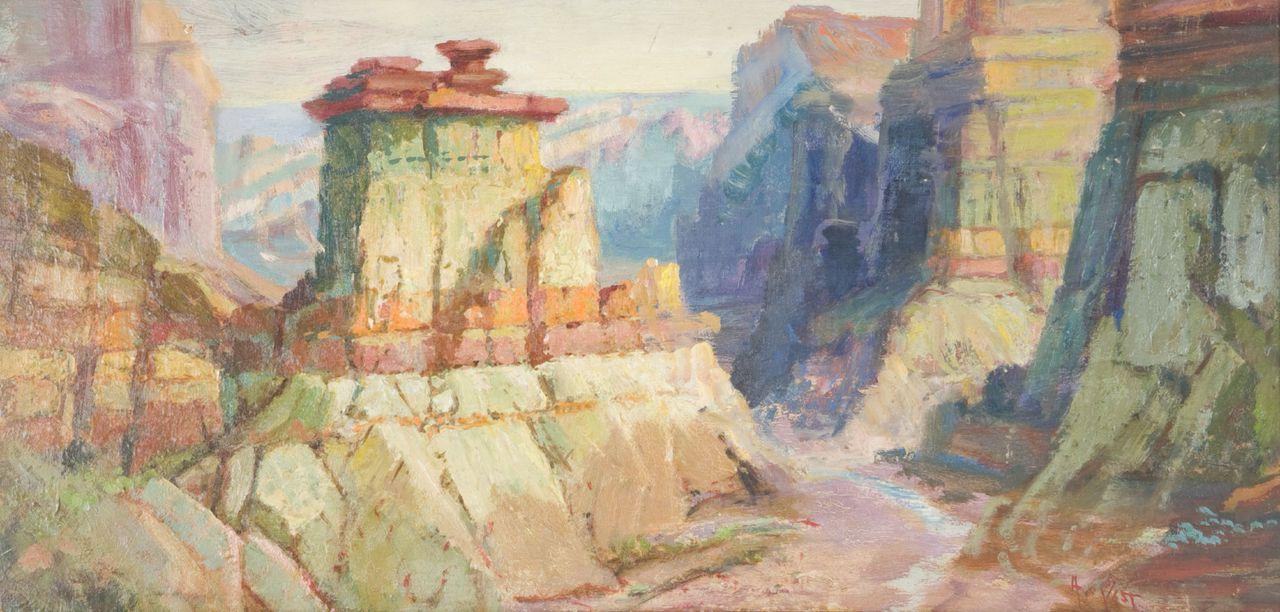 Arthur William Best, grand canyon, utah art