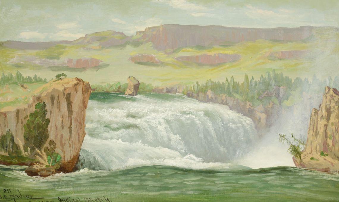 James Everett Stuart, western art,