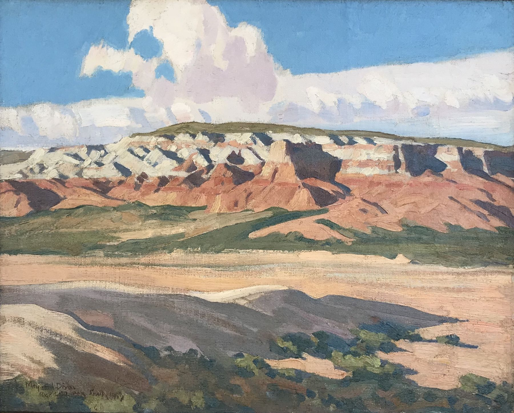 Maynard Dixon, Arizona, red rocks, western art, south west art