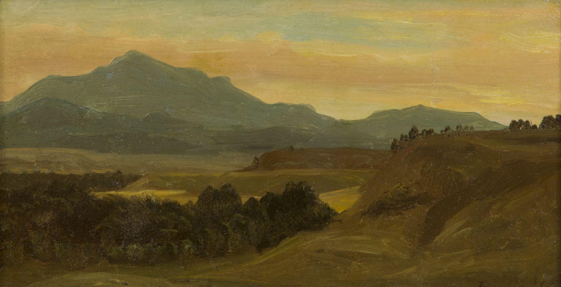 Bierstadt, Albert, Western landscape