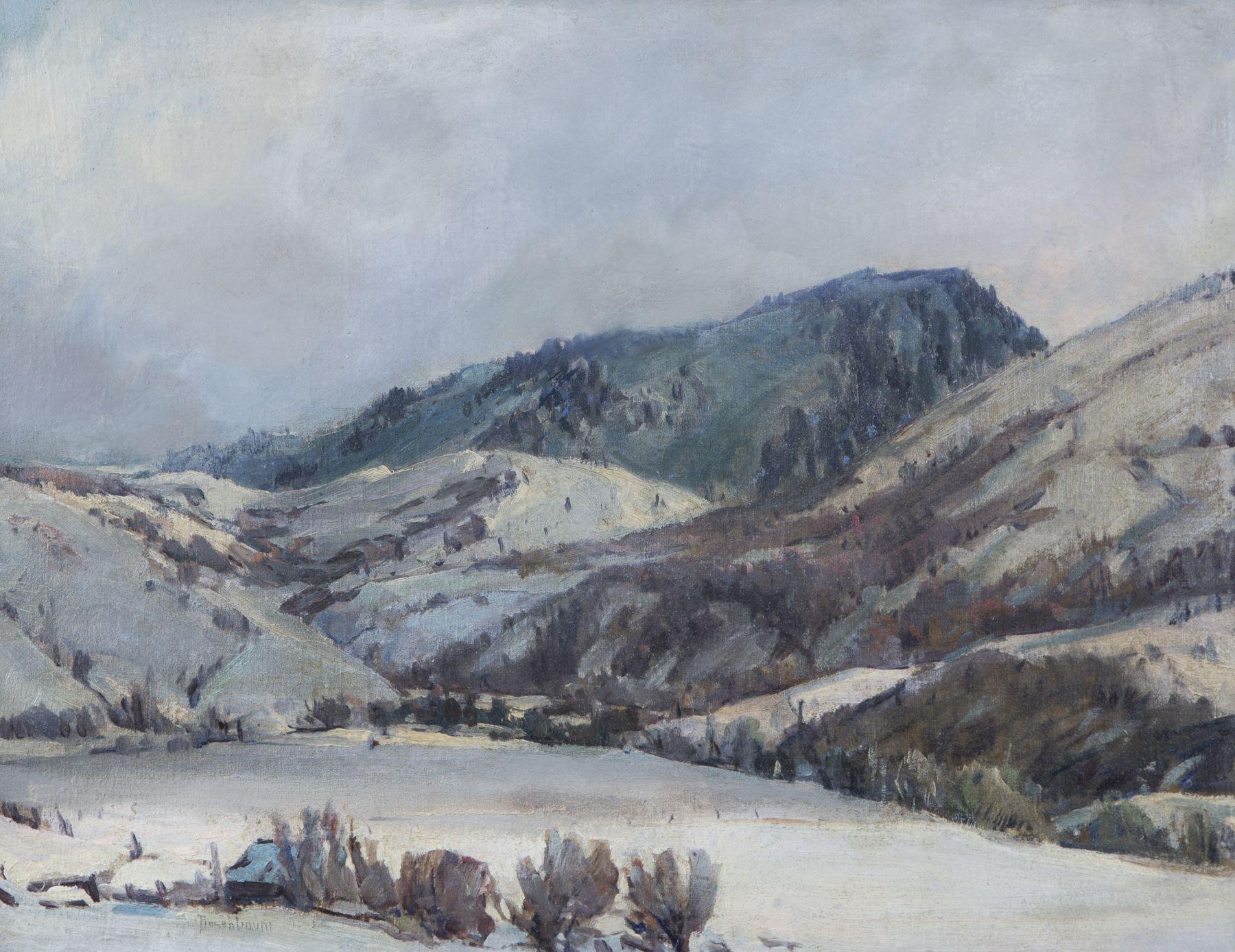Rosenbaum, utah artist, western landscape