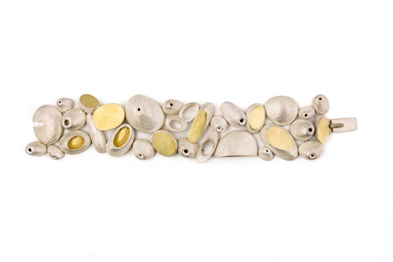 John Iversen bracelet, gold river