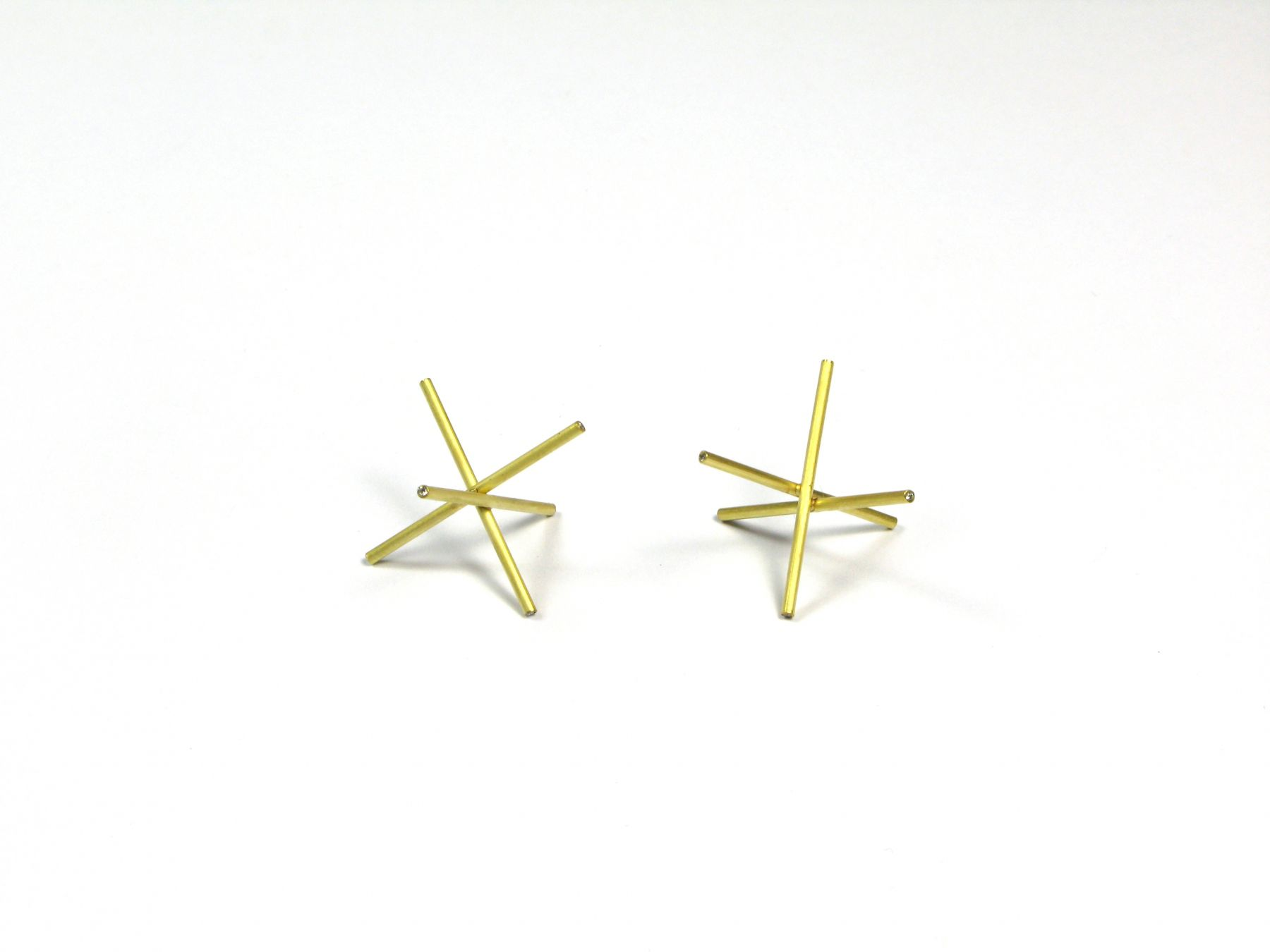 Marc Monzo Star earrings