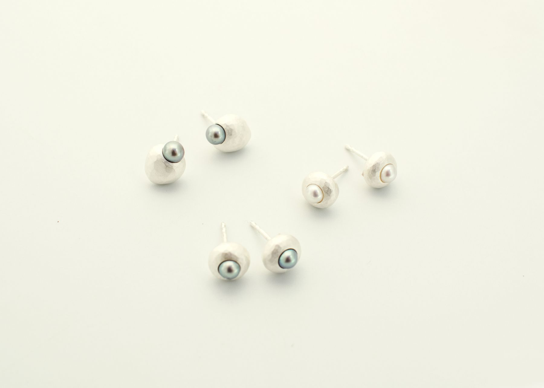 Ute Eitzenhöffer, earrings, silver, pearls
