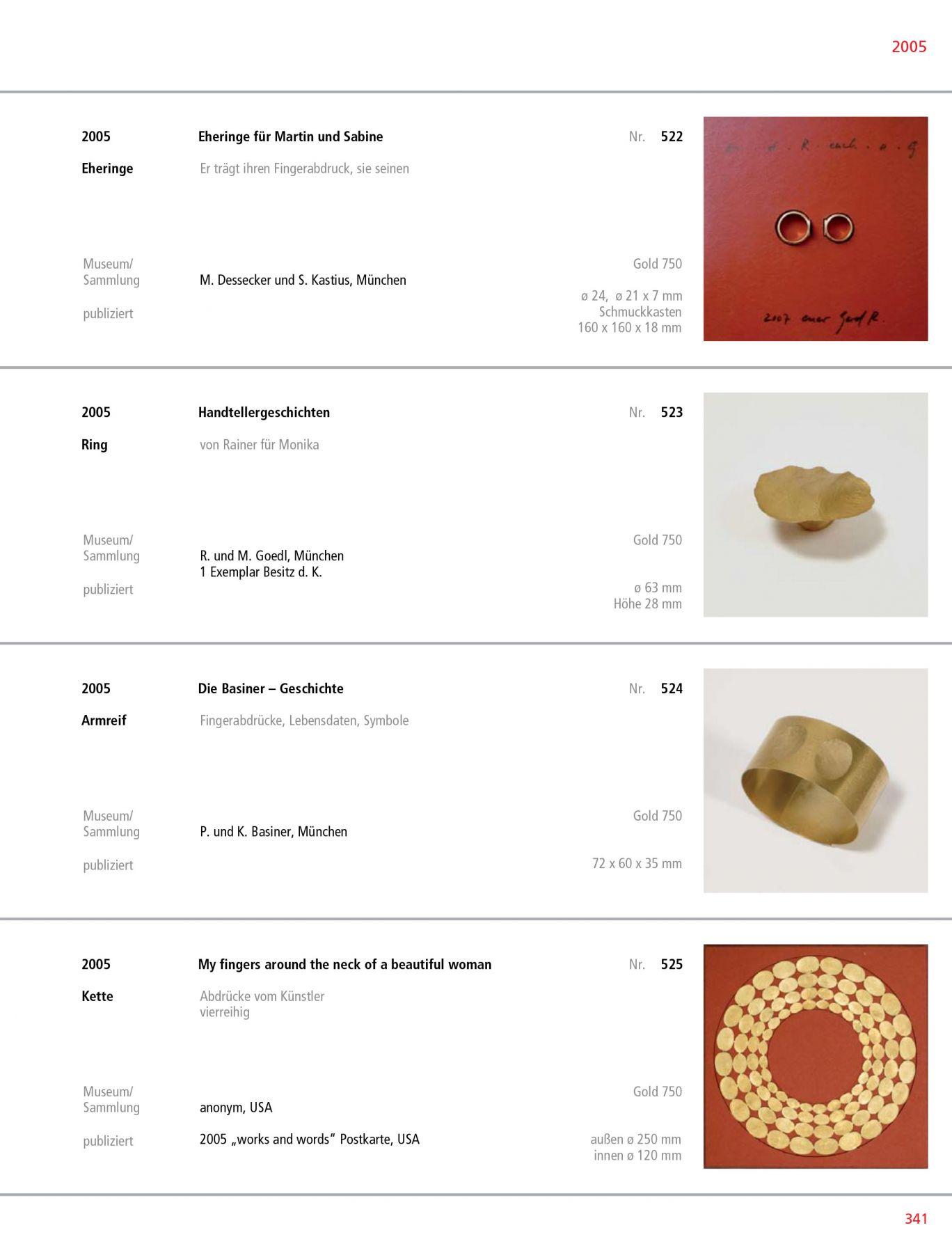 Gerd Rothmann Werkverzeichnis