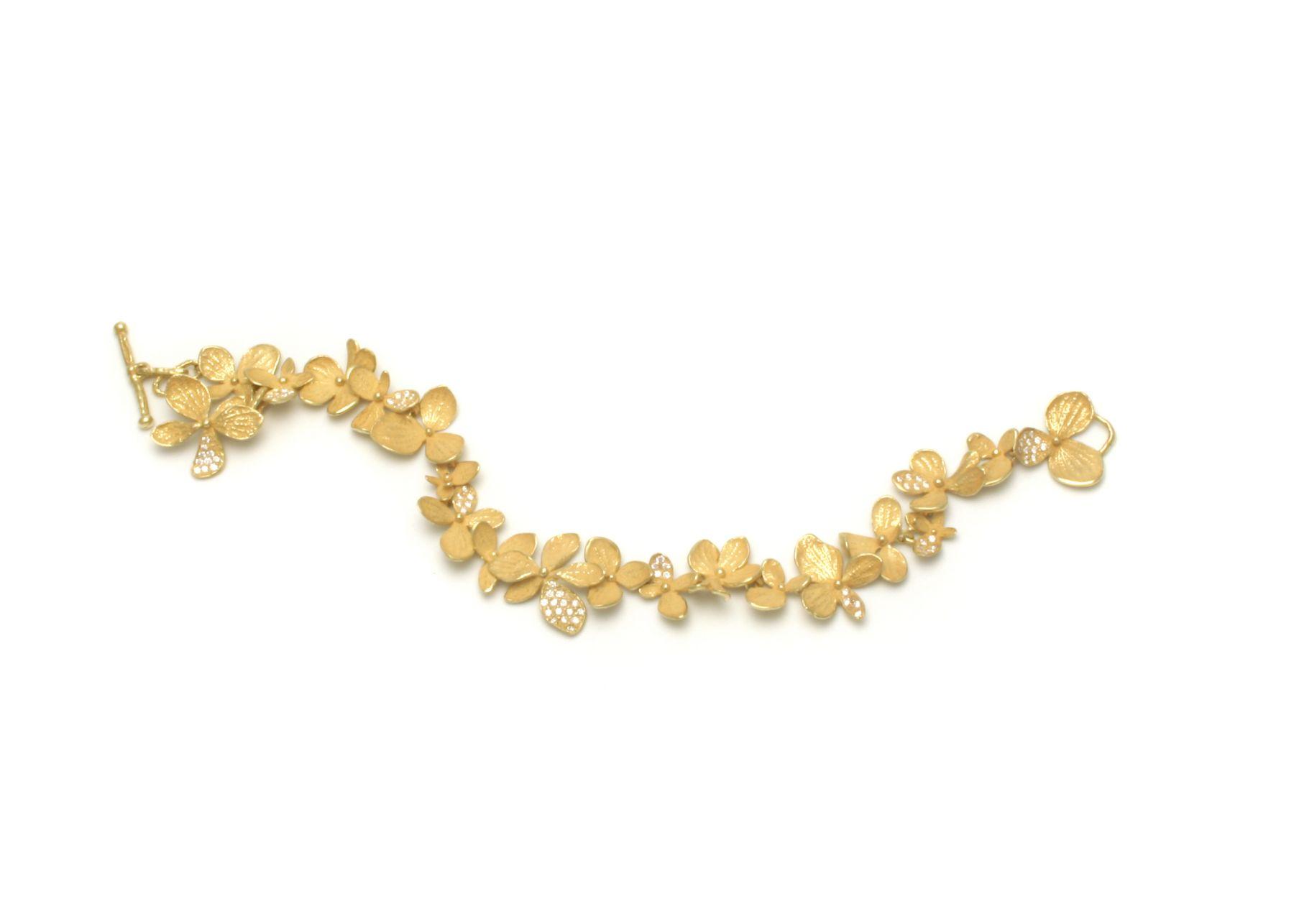John Iversen Hydrangea bracelet