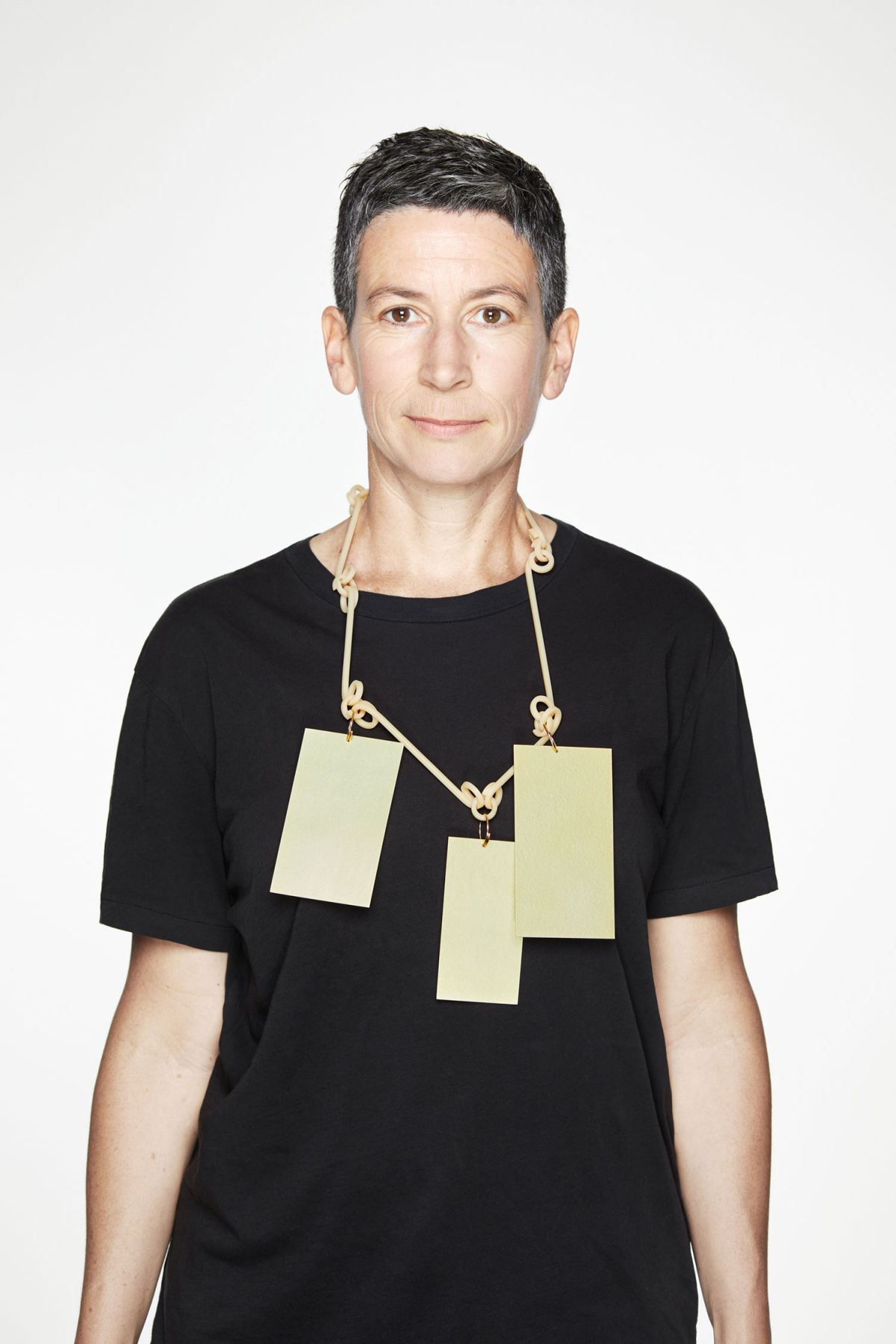 Karin Johannson, Observations From a Distance, Jewelry, necklace, anodized aluminum