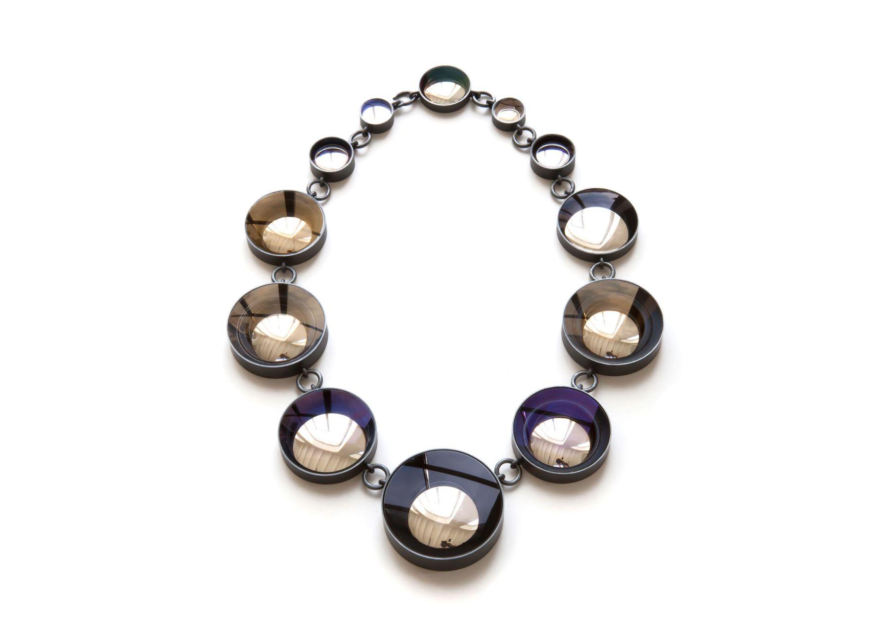 Jiro Kamata, Spiegelkette, Mirror necklace