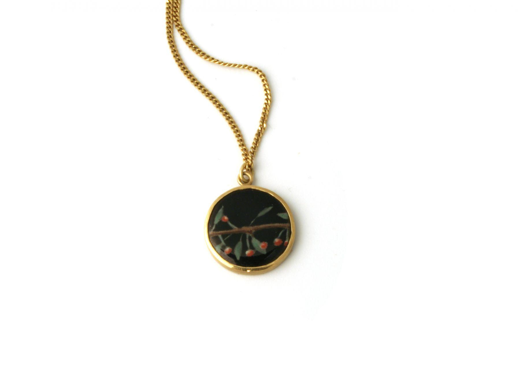 Jutta Klingebiel, enamel, pendant