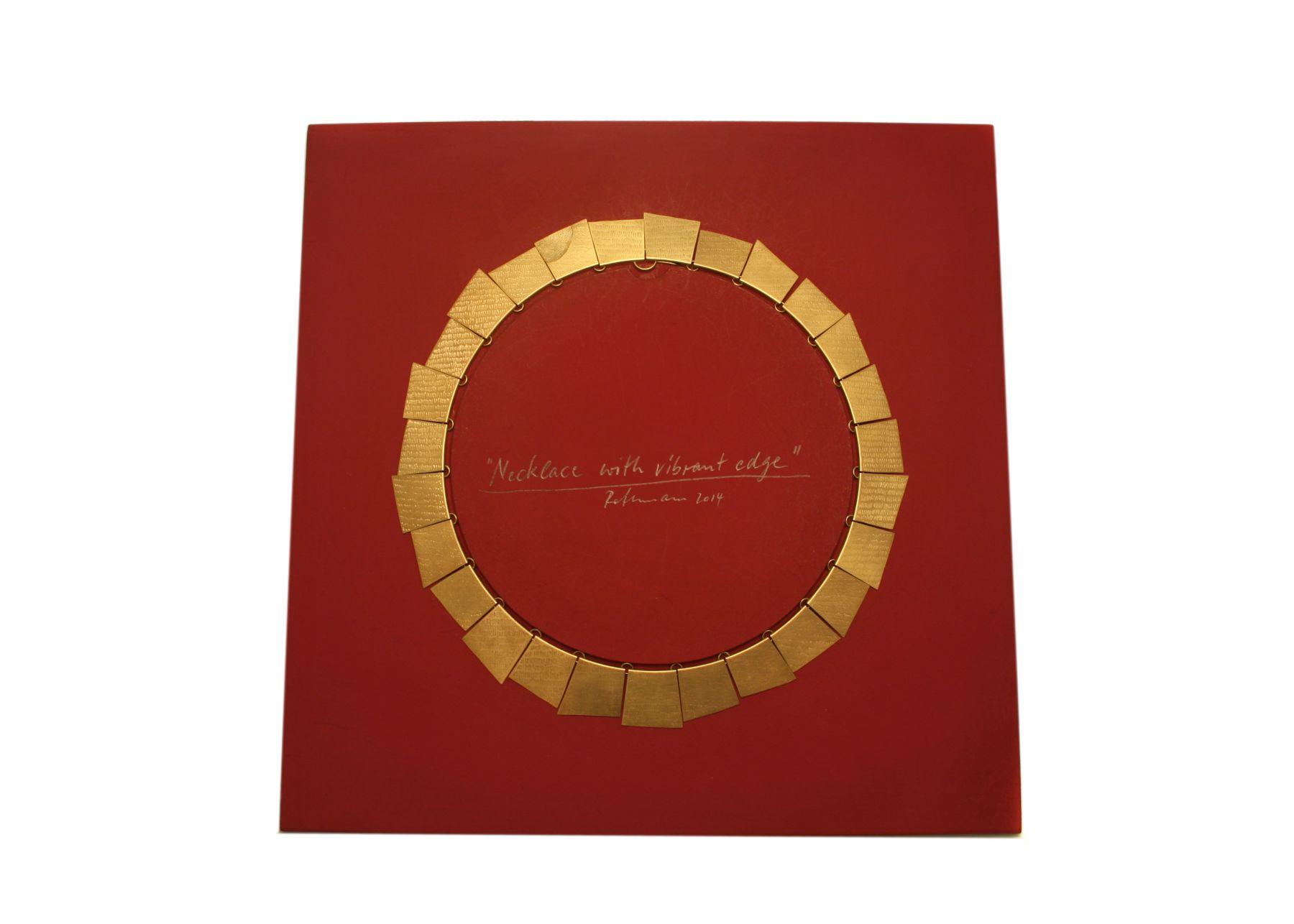Gerd Rothmann, fingerprint, necklace
