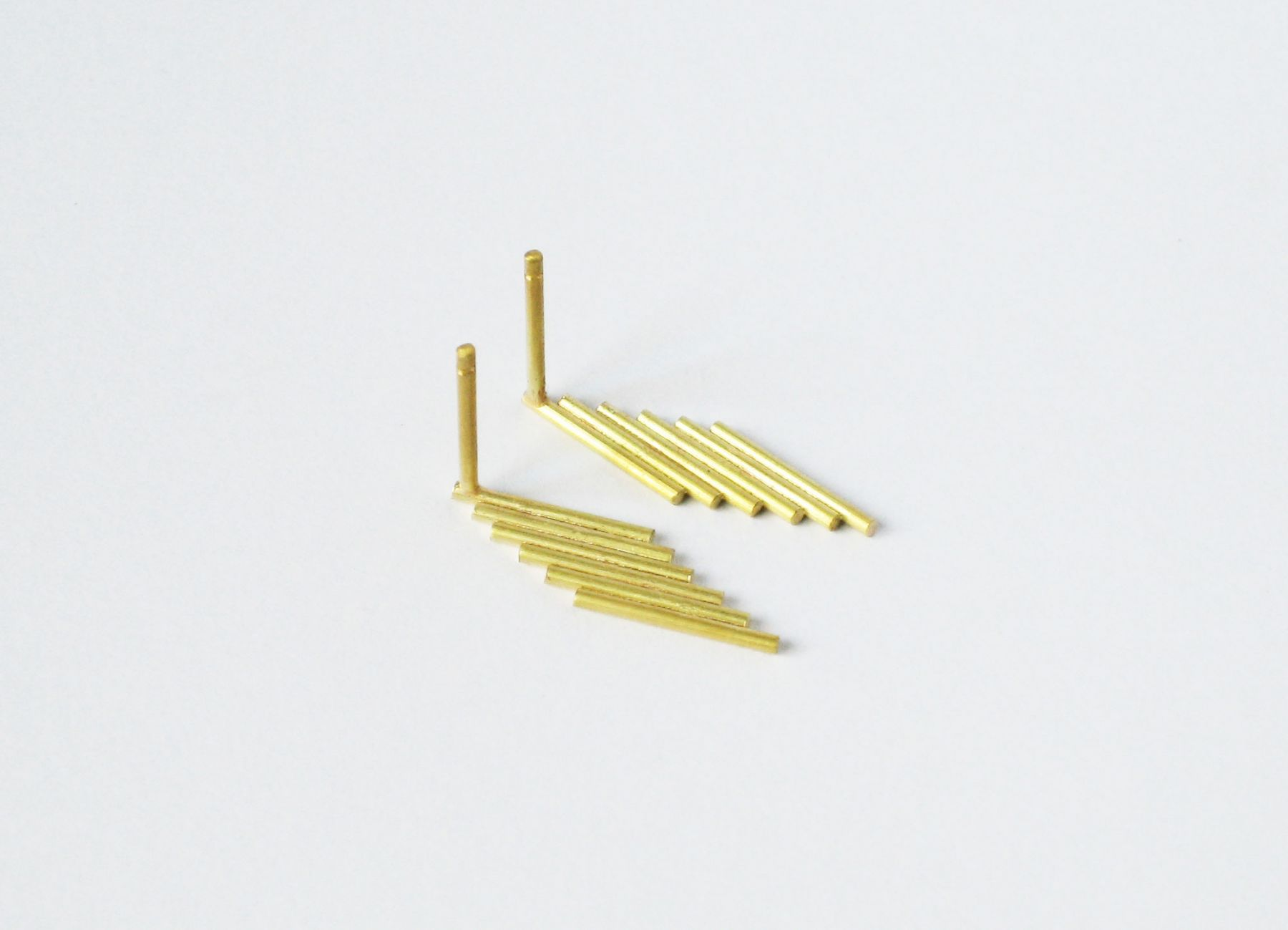 Marc Monzo earrings 1mm