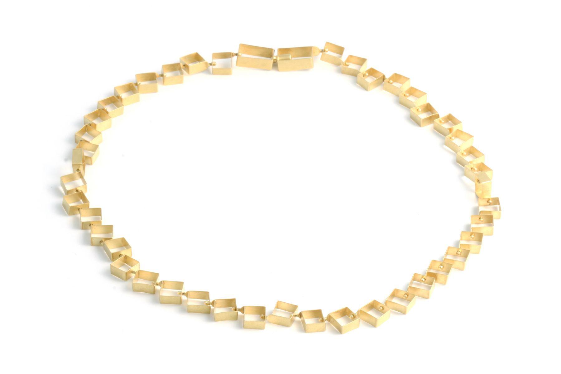 Dorothea Striffler, necklace, gold