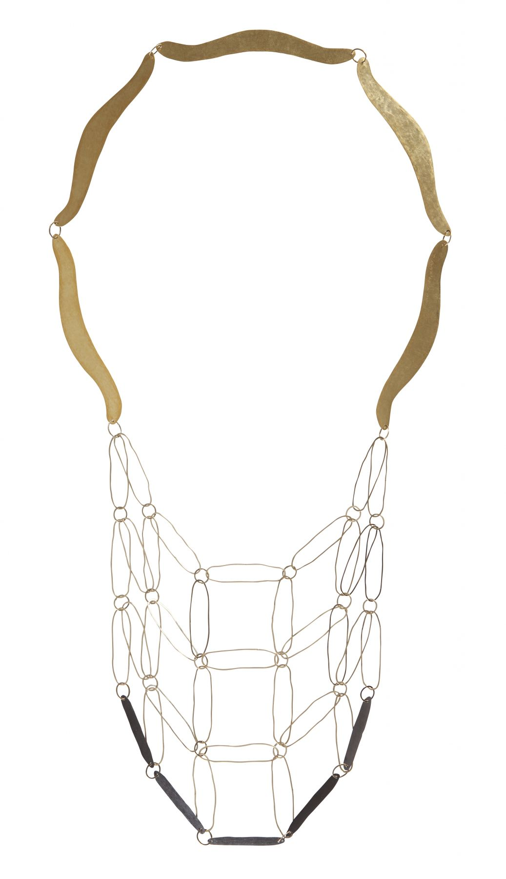 Annelies Planteydt, Dutch contemporary jewelry, gold