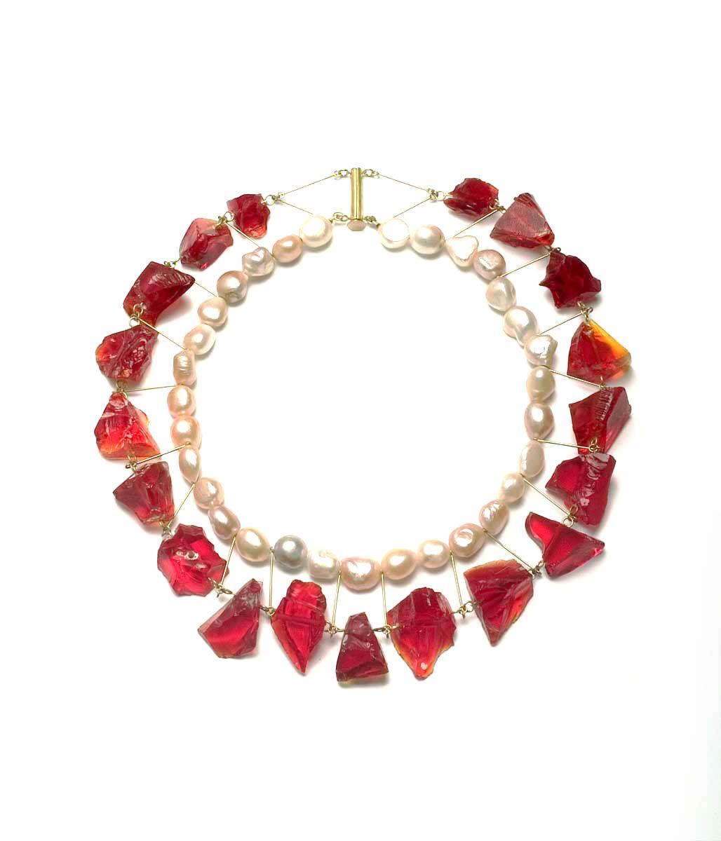 Philip Sajet Pearls and Glass