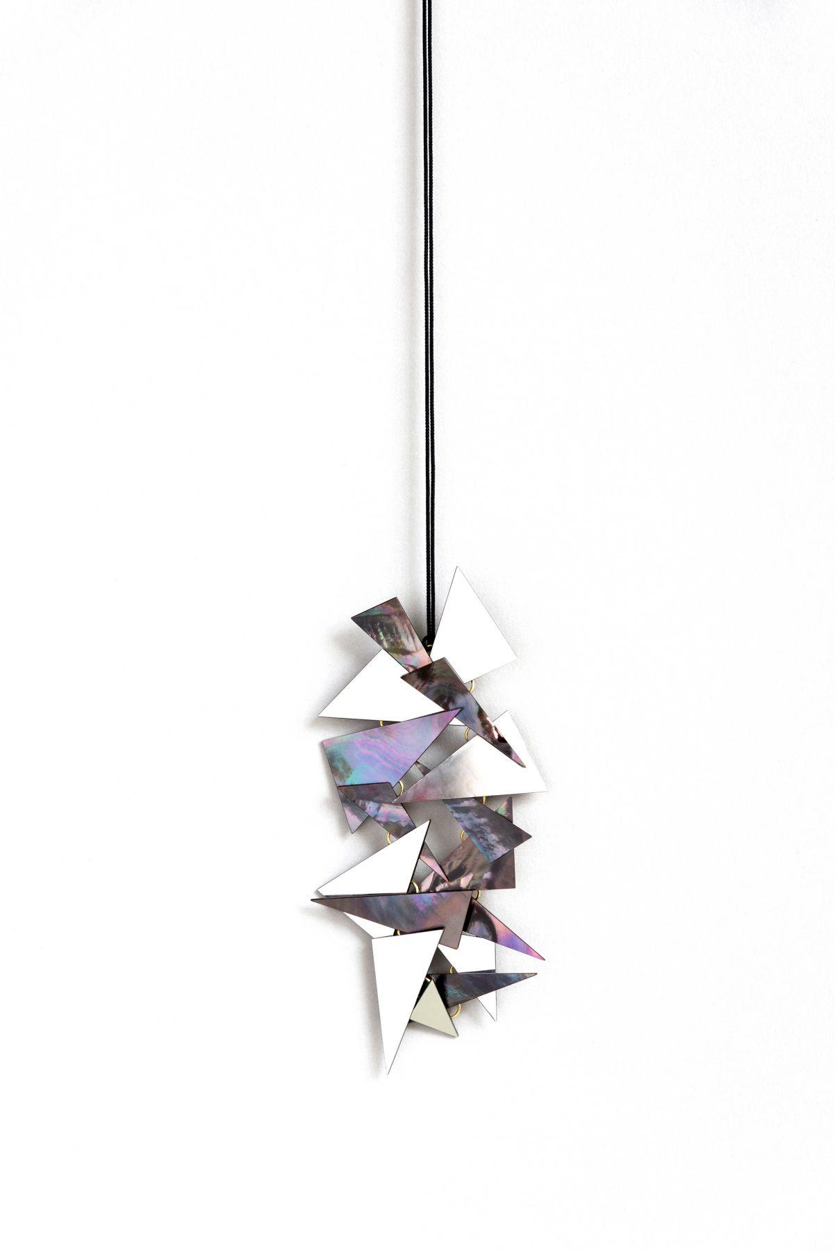 Jiro Kamata, pendant, mirror, shell