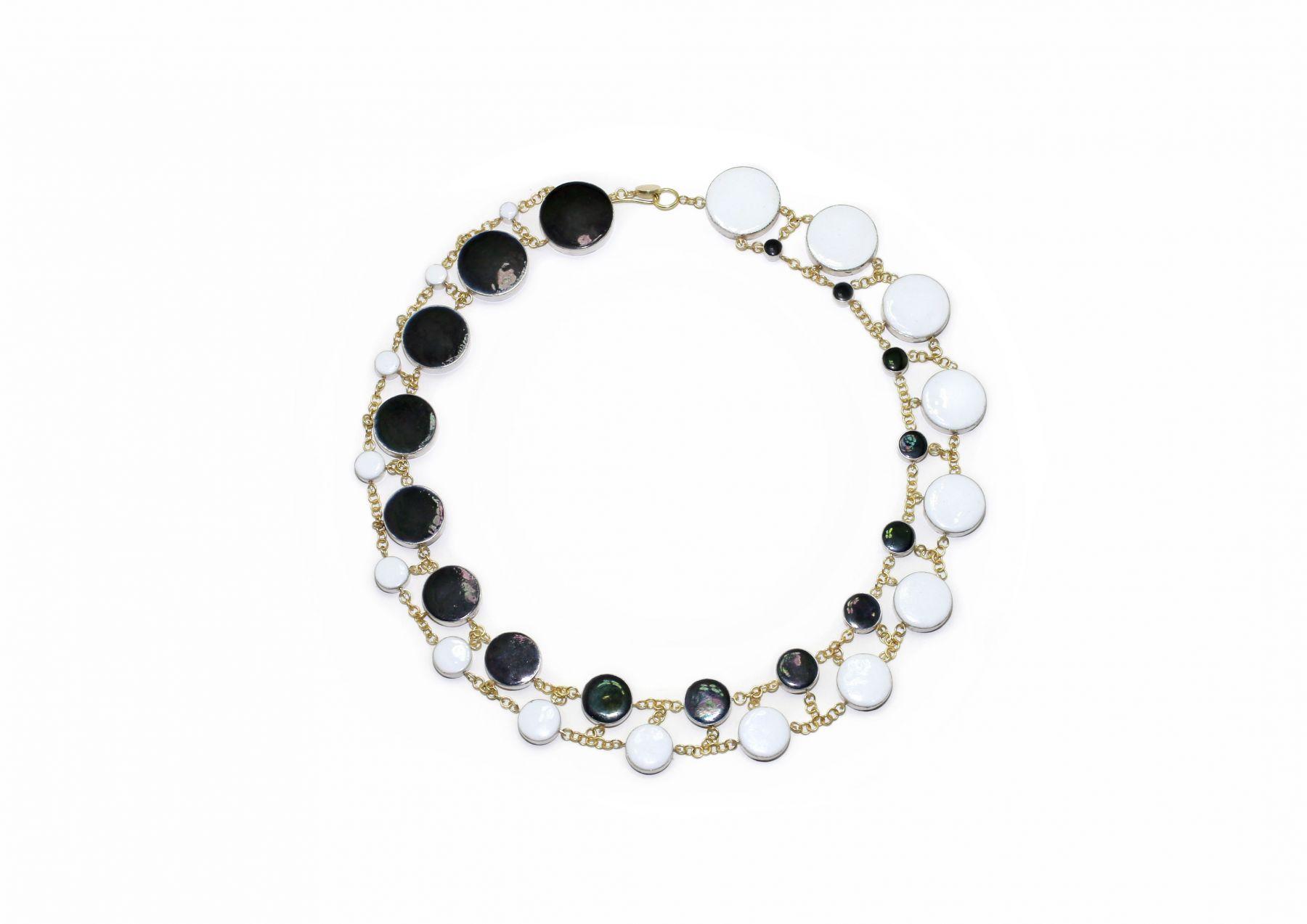 Philip Sajet, enamel necklace, dutch design miami