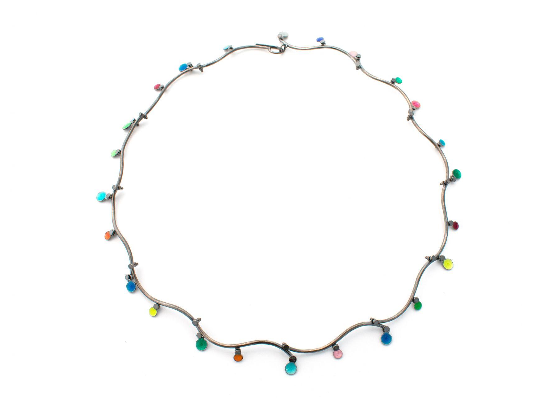 Barbara Seidenath, enamel, jewelry, earrings