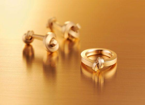 Oliver Schmidt Juni Knot Rings Knotenringe modern unique wedding bands cufflinks
