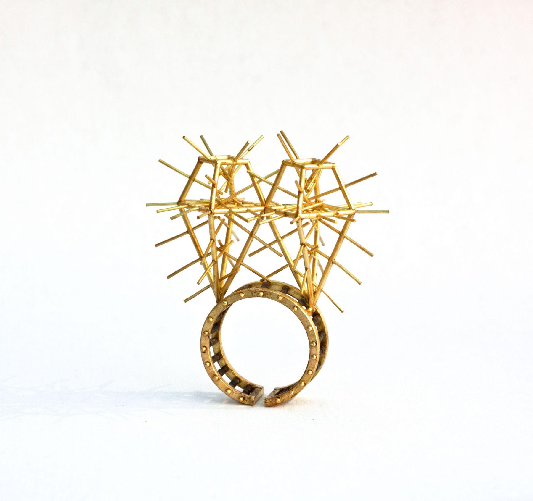 Philip Sajet, cactus ring, dutch design miami