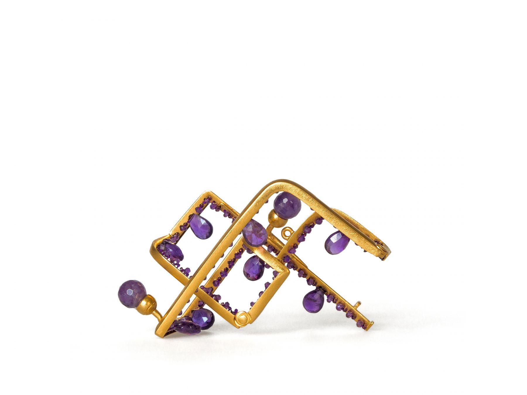 Petra Zimmermann, brooch, contemporary jewelry, austria