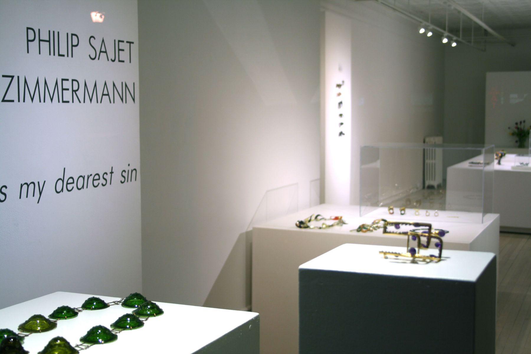 Petra Zimmermann, Philip Sajet, Exhibition, contemporary jewelry, Dutch, Austrian, art jewelry