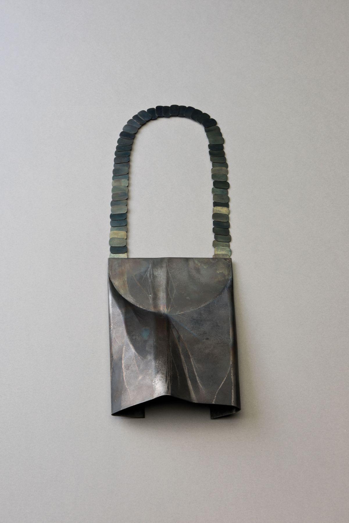 Katrin Feulner, necklace, steel