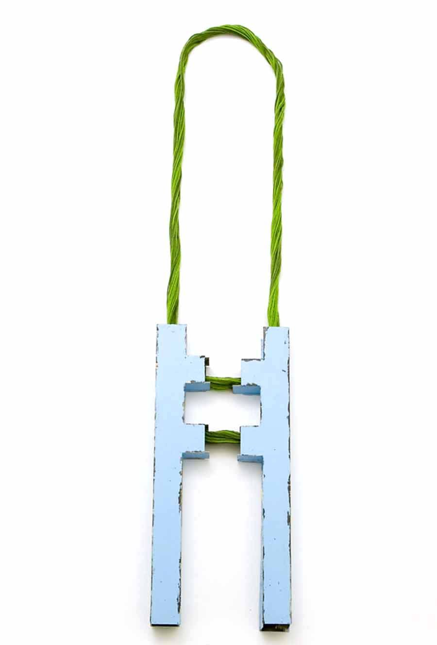 Sara Borgegard steel necklace