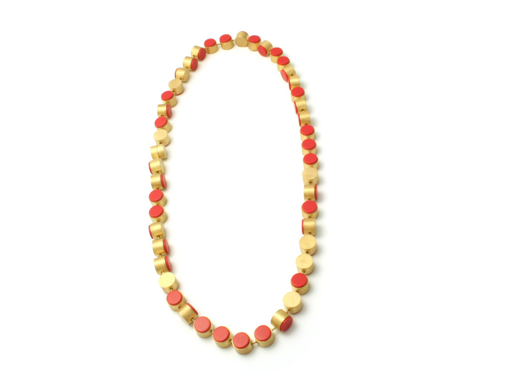 Batho Gündra coral necklace