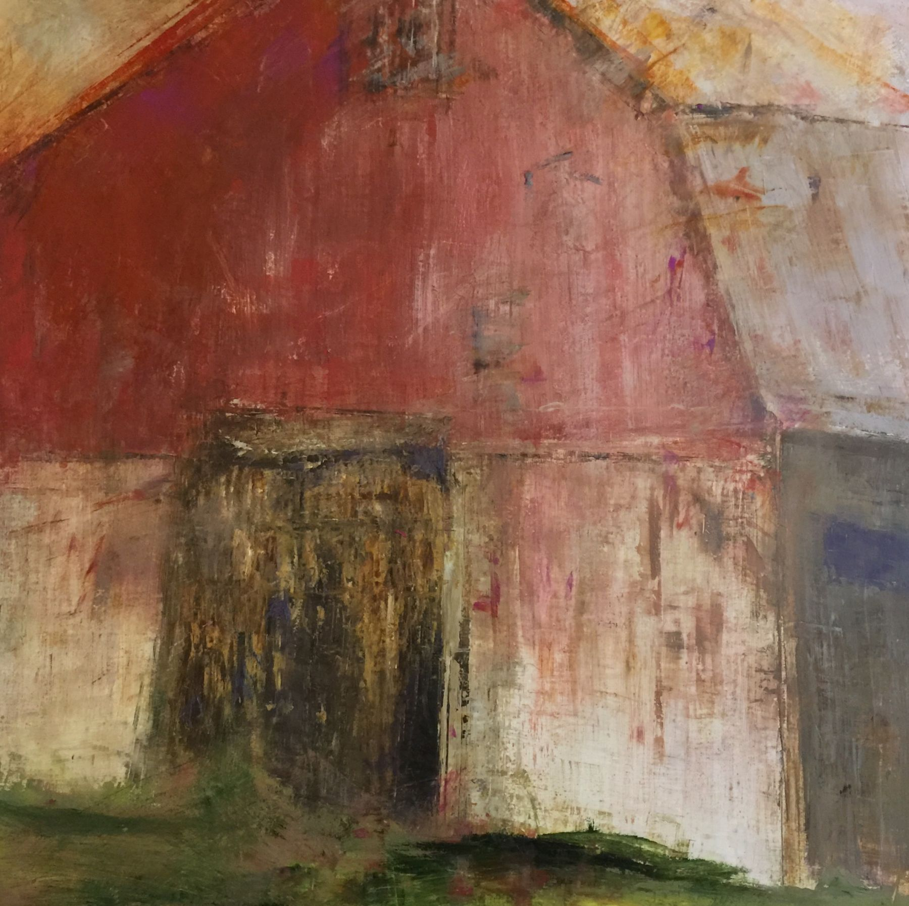 "Proud Tobacco Barn, 40"" x 40"""