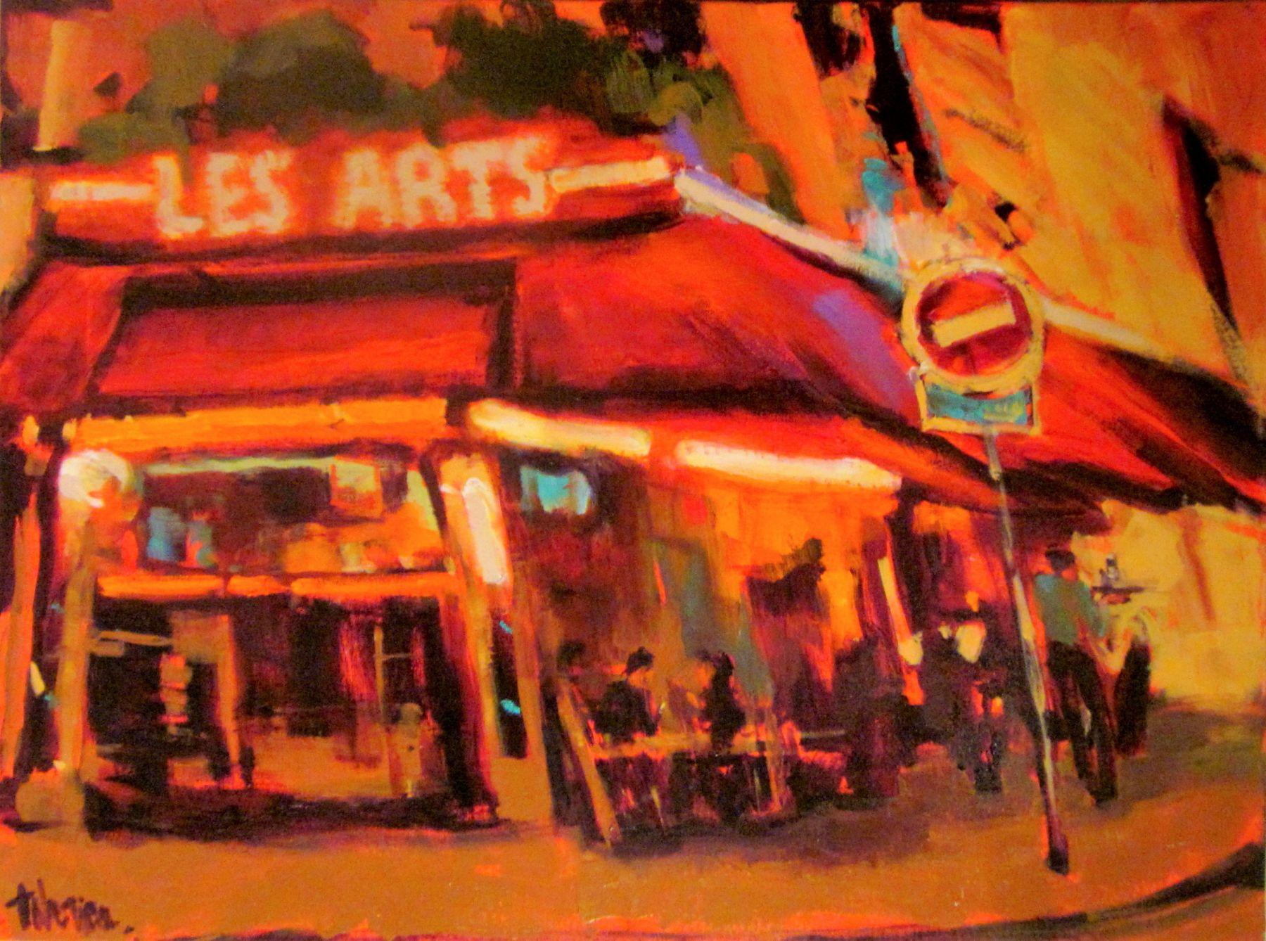 Les Arts Cafe, Paris