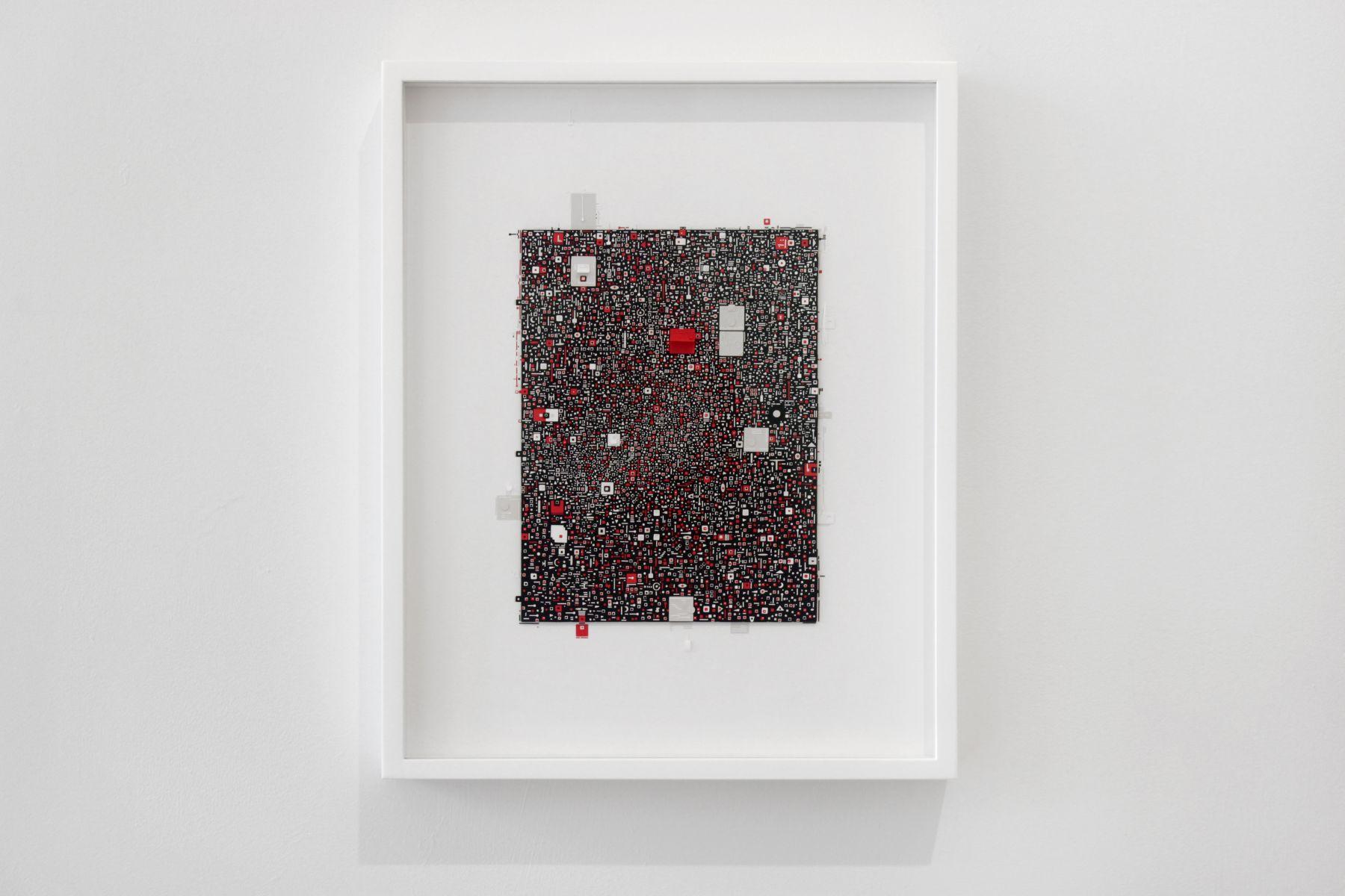 Marco Maggi, Label Lab (on Black), 2018