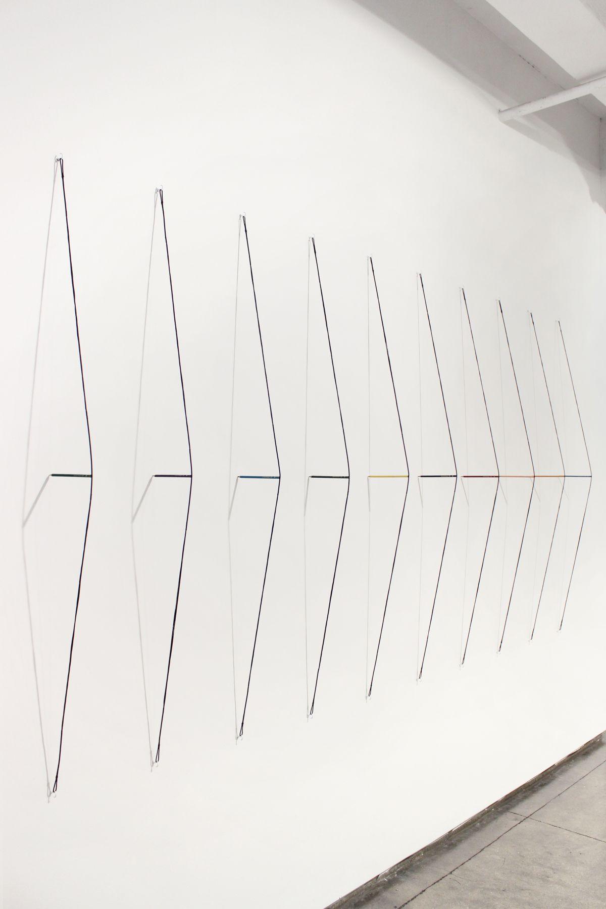 Putin's Pencils installation view