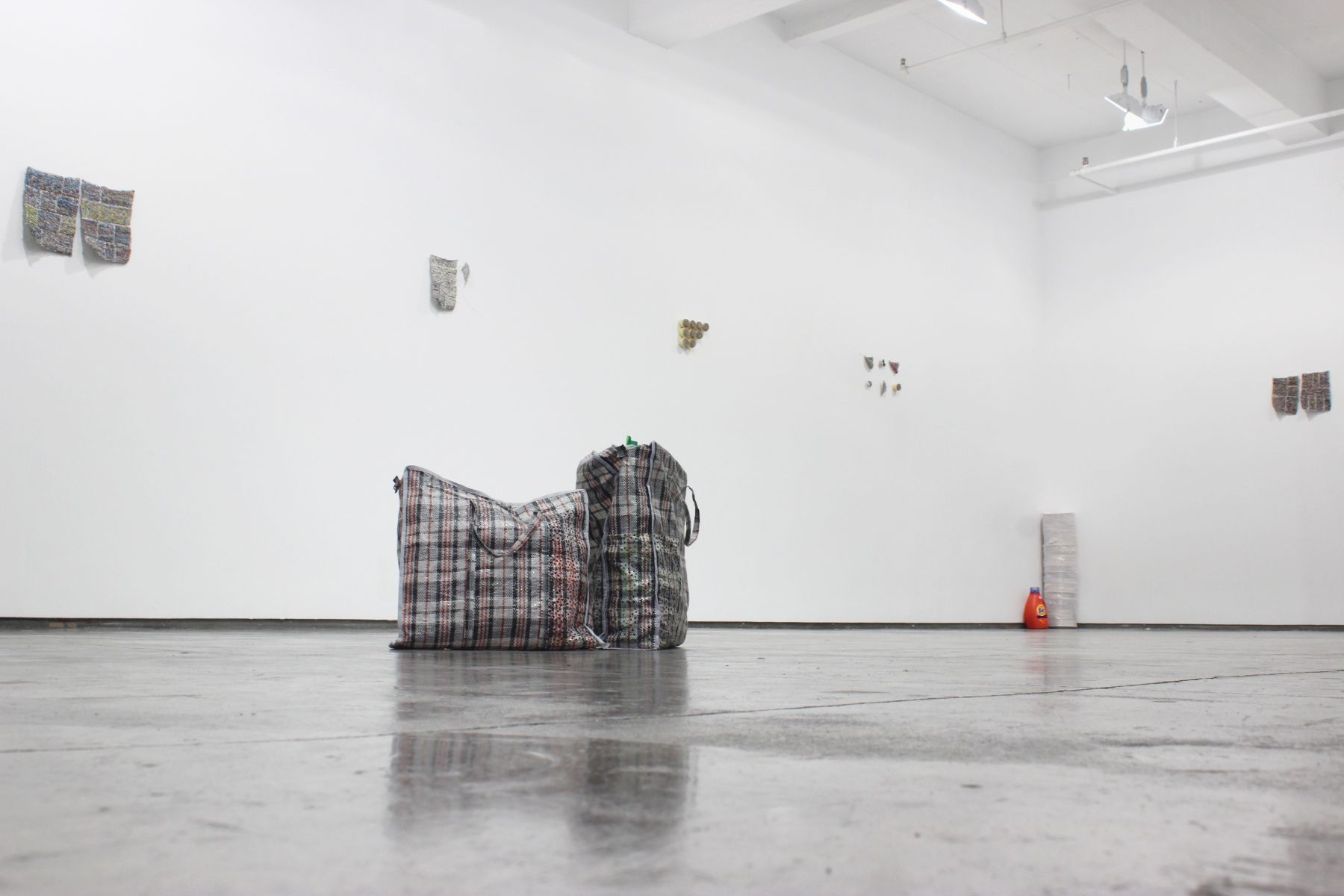 Stefana McClure, Siege of the Flying Mermaids, 2015, Installation view