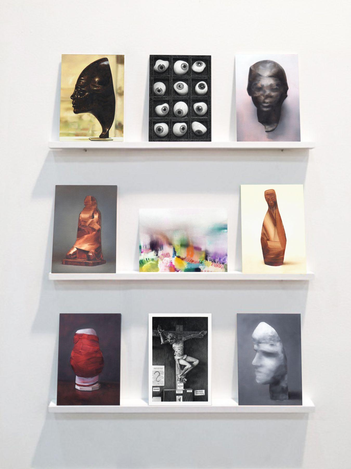 Martí Cormand,Postcards to AZ, 2016,installation view