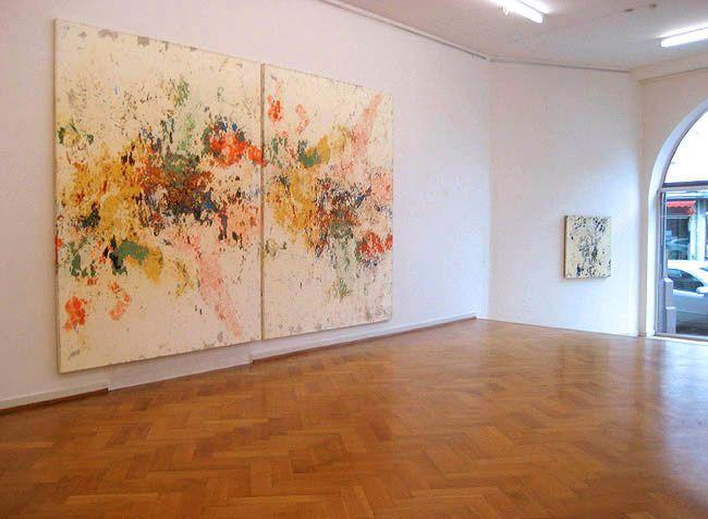 Installation Graf und Schelbe Galerie, 2007, Basel, Switzerland