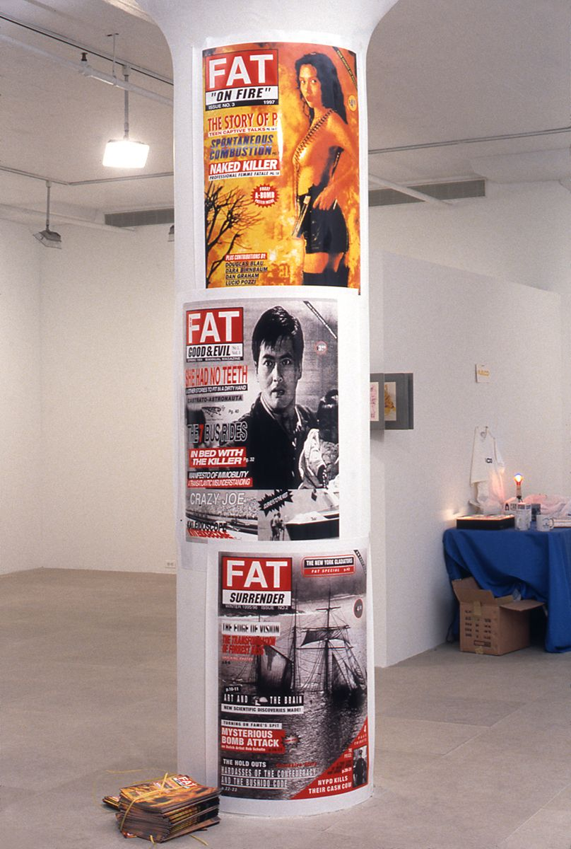 Josephine Meckseper, Fat posters #1, #2, #3, 1998, digital prints, 30 x 40 inches