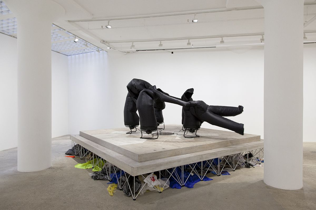 Paul Chan, Pentasophia (or Le bonheur de vivre dans la catastrophe du monde occidental), 2016