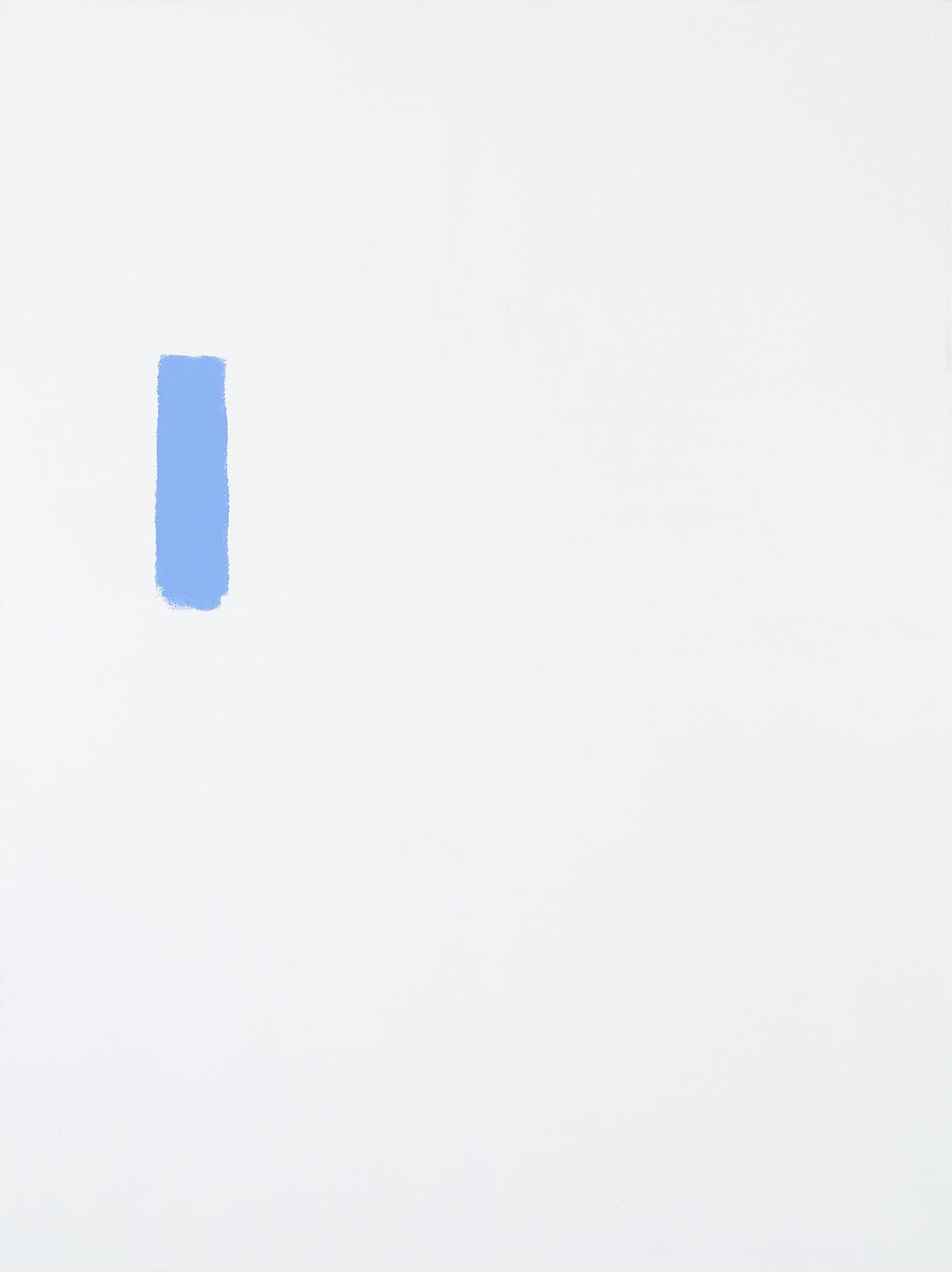 Michael Krebber MK.306, 2015 Acrylic on canvas  78 3/4 x 59 1/8 inches (200 x 150.2 cm) (