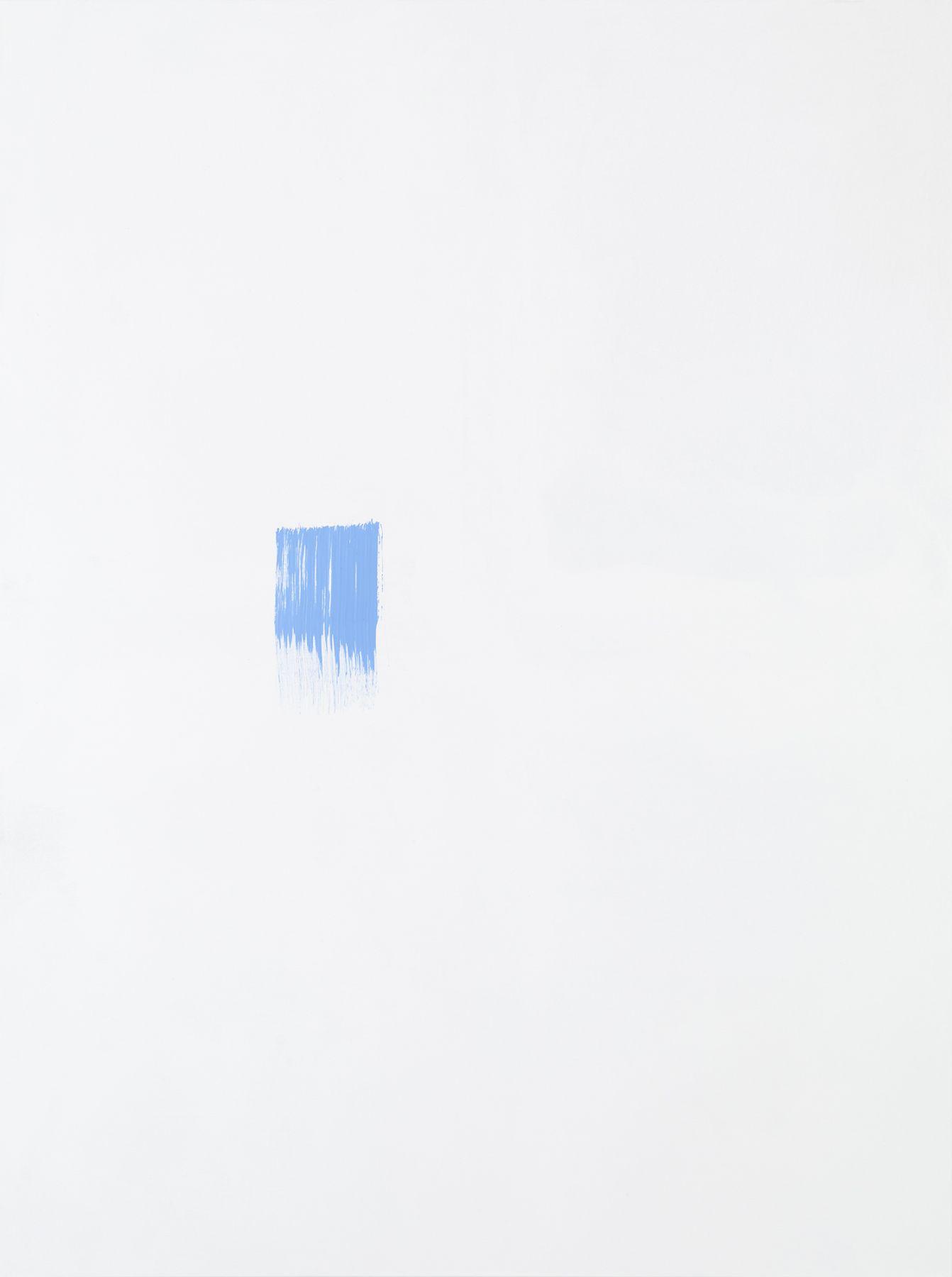 Michael Krebber MK.305, 2015 Acrylic on canvas  78 3/4 x 59 1/8 inches (200 x 150.2 cm) (