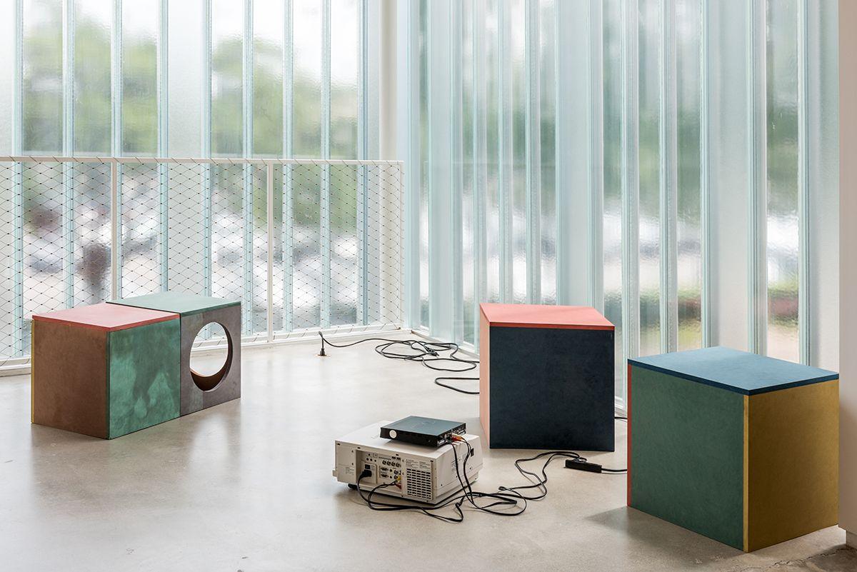 Installation view, Blaffer Art Museum, University of Houston, Houston, 2016